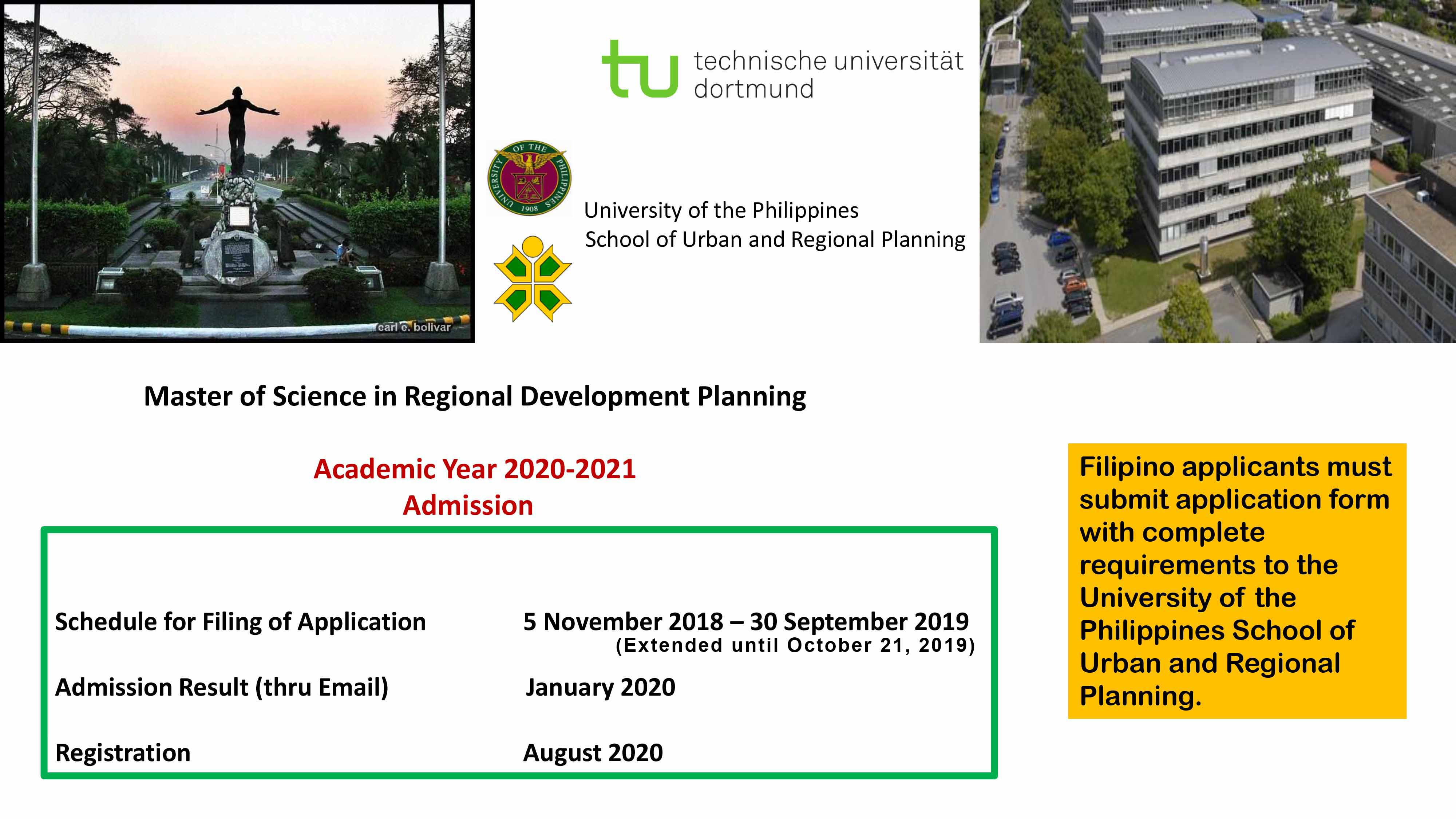 UP School of Urban and Regional Planning